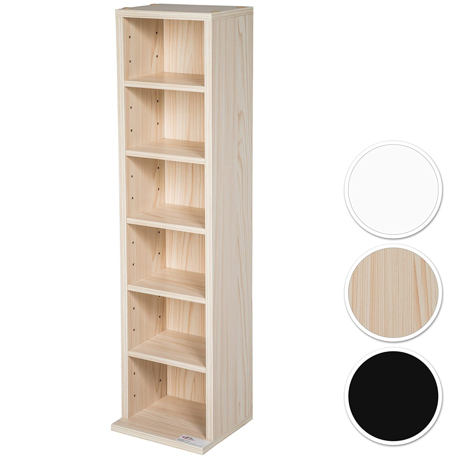 Etagere de rangement amazon for Meuble mural dvd