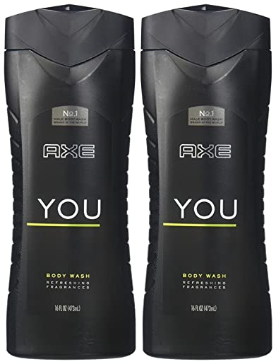 AXE Body Wash for Men You, 16 Ounce, (Pack of 2)
