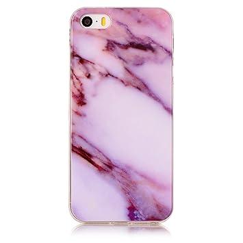 uposao Multicolor TPU Case Silicona Carcasa para iPhone 5S ...