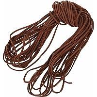 REFURBISHHOUSE 16.65-18.655 m 2 mm bruin lederen riem lederen string plat DIY