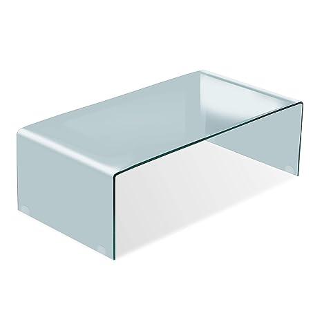 Adec - Glass, Mesa de Centro, mesita Comedor de Cristal ...