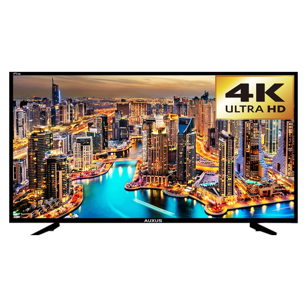 Best of the best 55 inch TV India - Auxus Iris 55 Inches Full Smart Android 4K Ultra HD LED TV - AX55L4K01-SM (Black)