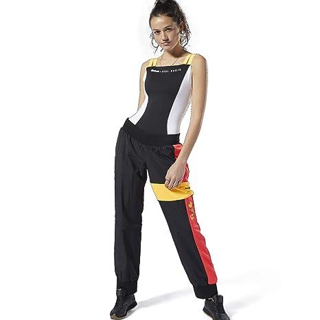 Reebok - Pantalones de chándal para Mujer - DY9375, Large, Negro ...