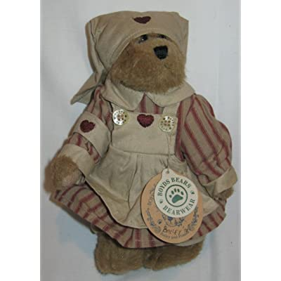 Boyds Nurse Bear Bailey Spring 1998 8. in Tall Plush by Boyds Bears: Toys & Games