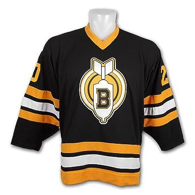 borizcustoms Youngblood Thunder Bombers Carl Racki Stitch Hockey Jersey (30) 6b98bd2c33