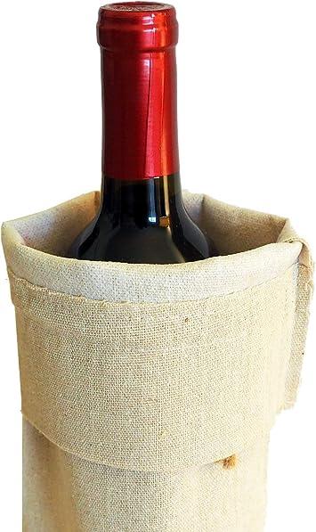 Mountain Jewel Triple Fluff Wine Bottle Bag #15W19