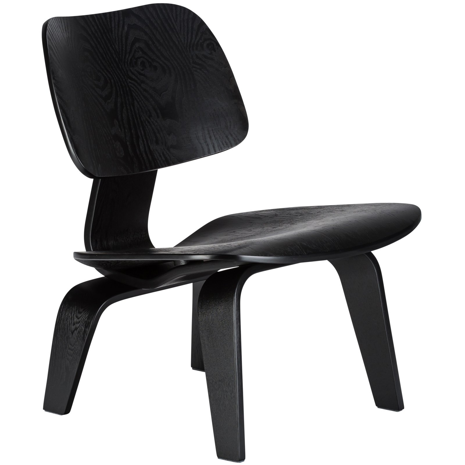Poly and Bark Isabella Lounge Chair, Black