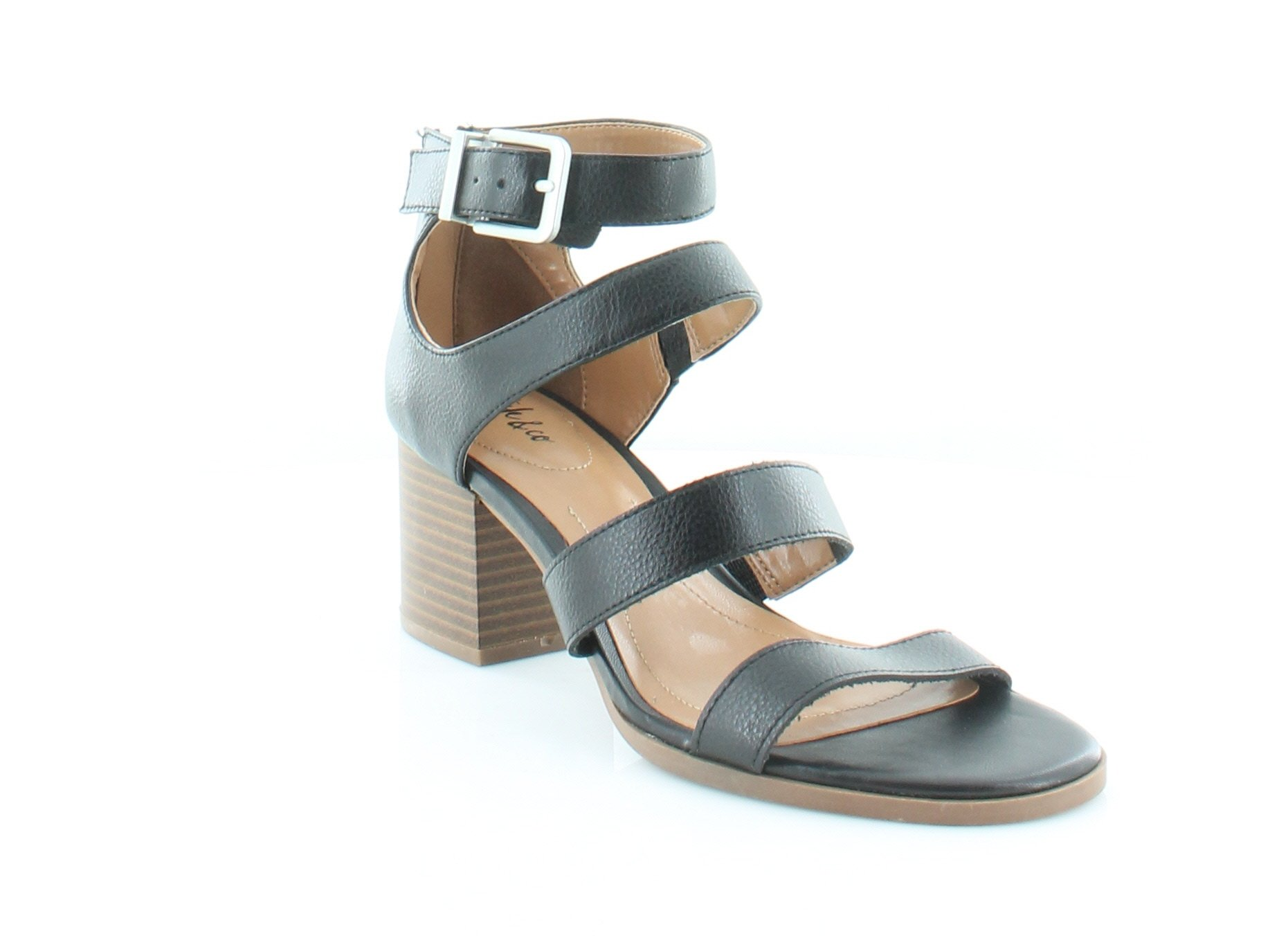 Style & Co. Womens Naomii Open Toe Casual Strappy Sandals, Black, Size 7.5 by Style & Co.