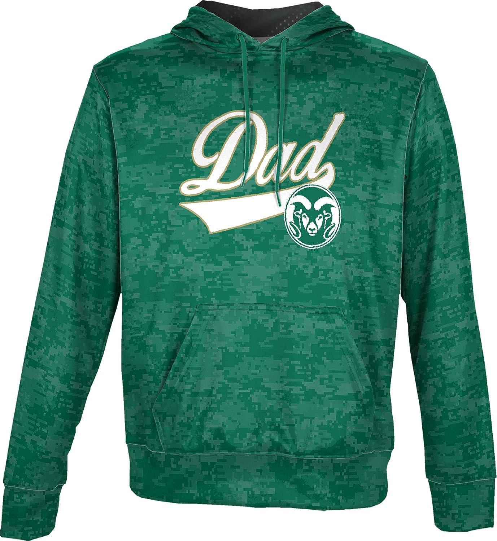 ProSphere Colorado State University Fathers Day Mens Pullover Hoodie School Spirit Sweatshirt Digital