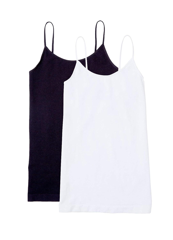 Ingrid & Isabel Maternity Tank Top Cami Shirt Stretch Soft Nursing Seamless Cami 2 Pack Set