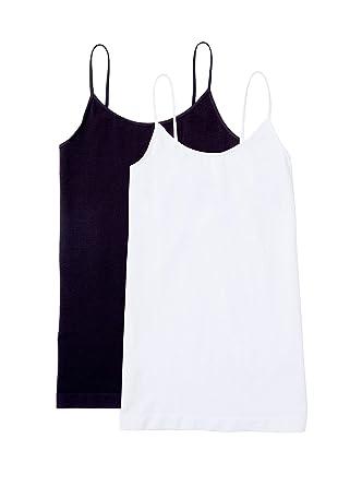 45eca87b44d Ingrid   Isabel Women s Camisole Tank Top Maternity Stretch Shirt 2 Pack  Set at Amazon Women s Clothing store