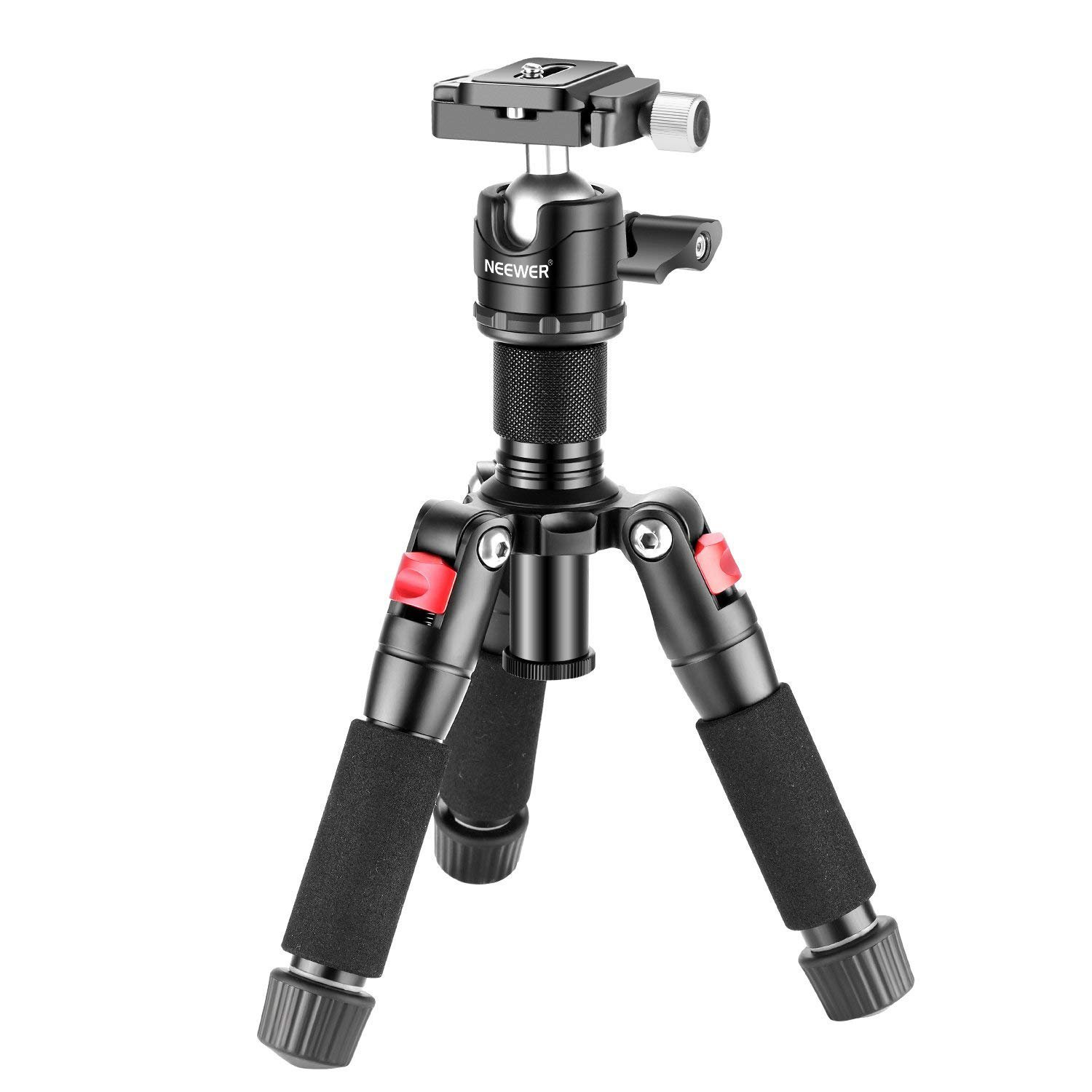 Neewer Portable Desktop Mini Tripod - Aluminum Alloy 20...