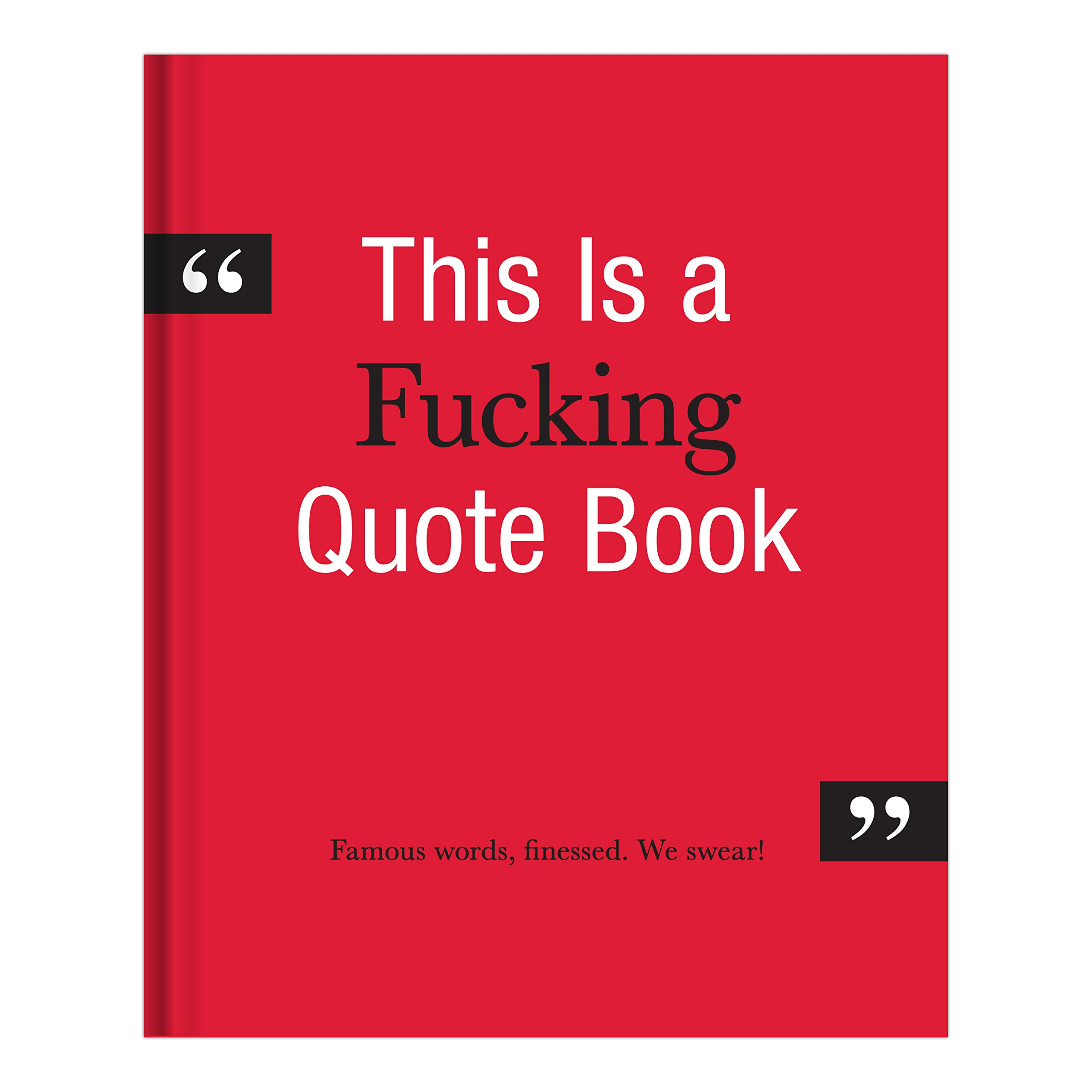 Download Knock Knock This is a F*cking Quote Book PDF