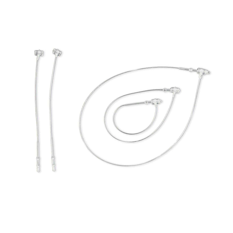 1000sicurezza fili 225mm Epo52–Plastica trasparente [fs225] IMPORT