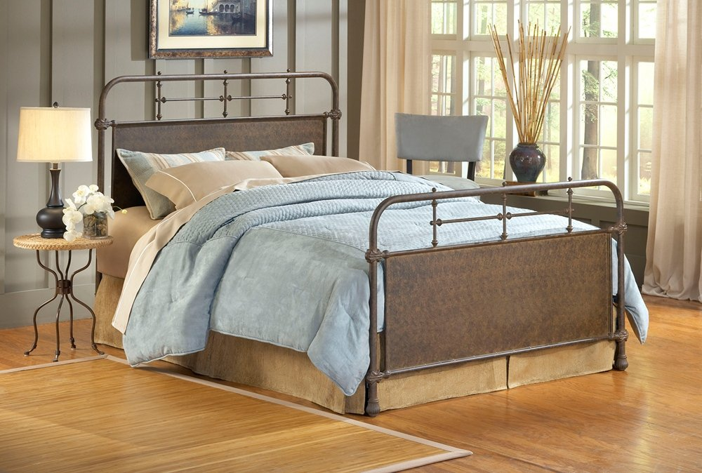 Amazon.com   Hillsdale Kensington King Panel Headboard In Old Rust   Bed  Frames