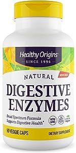 Healthy Origins Digestive Enzymes Broad Spectrum Veg Capsules, 90 Count