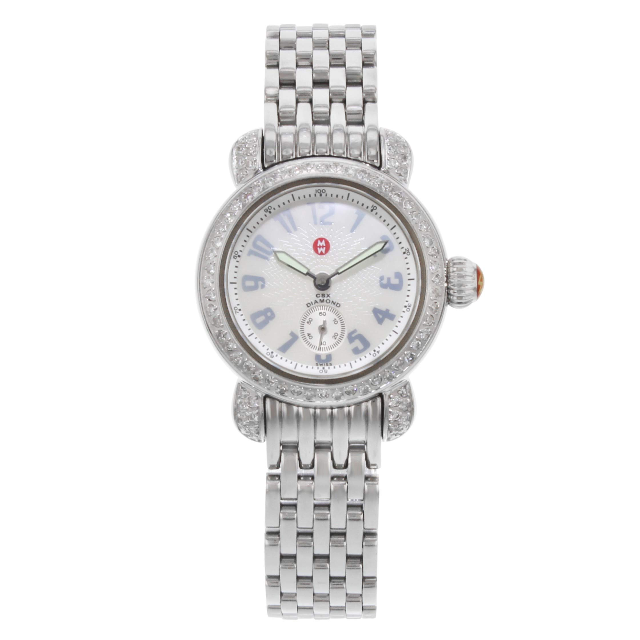 Michele CSX Quartz Female Watch MW03A01 (Certified Pre-Owned)