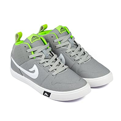 37e469ac90a3b ASIAN Skypy-31 Grey Green Walking Shoes,Casual Shoes,Canvas Shoes for Men