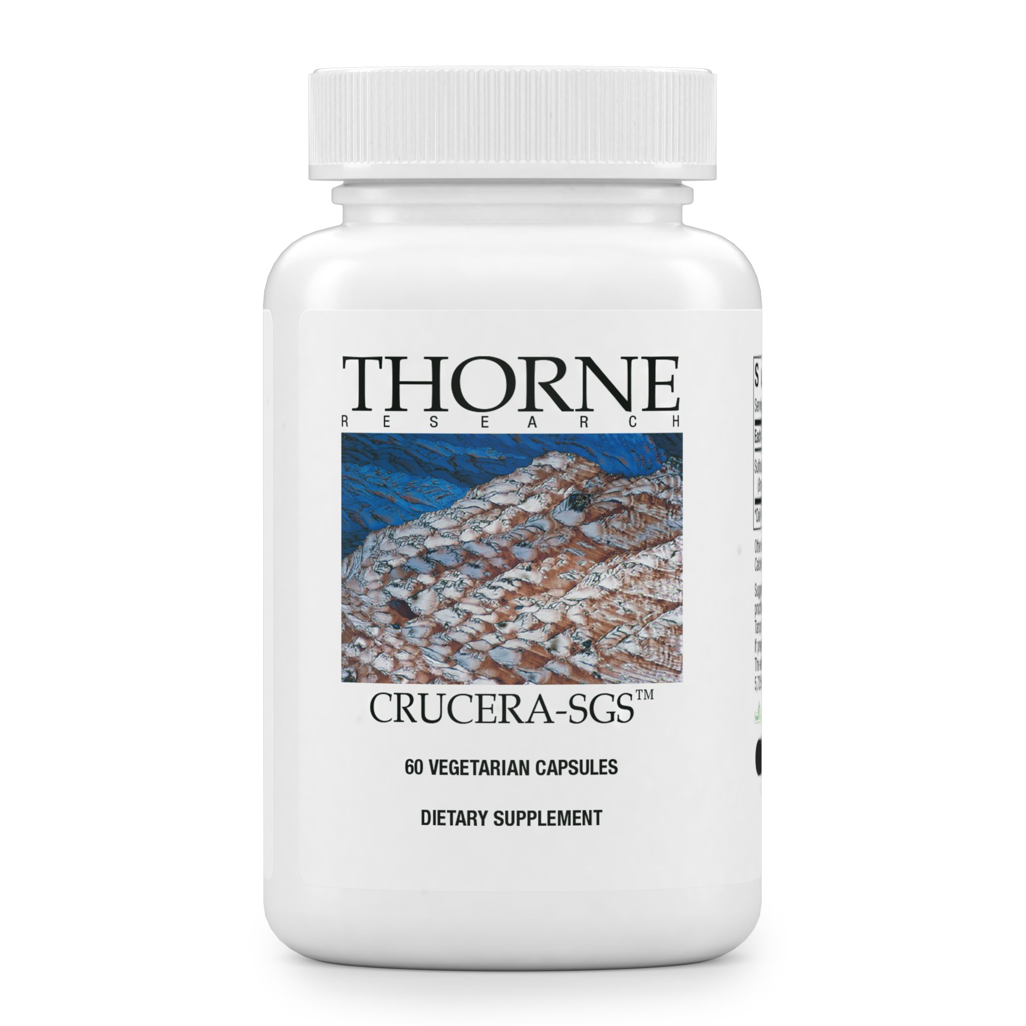 Thorne Research - Crucera-SGS - Broccoli Seed Extract for Antioxidant Support - Sulforaphane Glucosinolate (SGS) - 60 Capsules