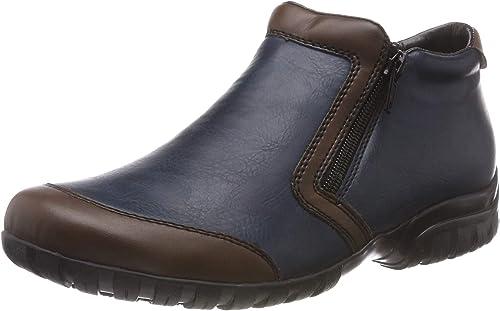 Rieker Damen Boot blau L4659 25
