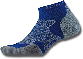 product image for Thorlos Experia Energy Micro Mini Crew Sock Size: Xs, Royal with a Helicase Sock Ring