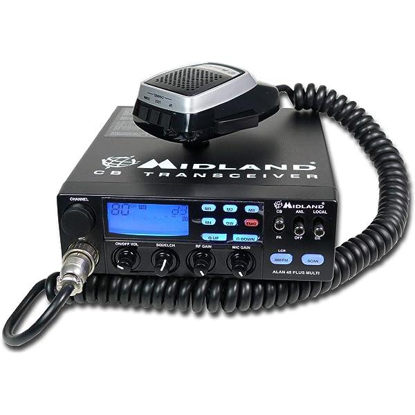 Alan 48 Plus Multi - Aparato de Radio CB: Amazon.es ...