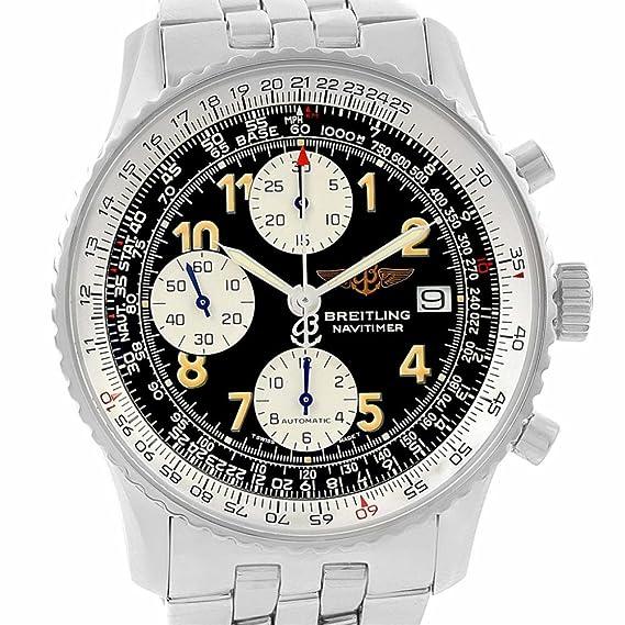 Breitling Navitimer automatic-self-wind Mens Reloj a13022 (Certificado) de segunda mano: Breitling: Amazon.es: Relojes