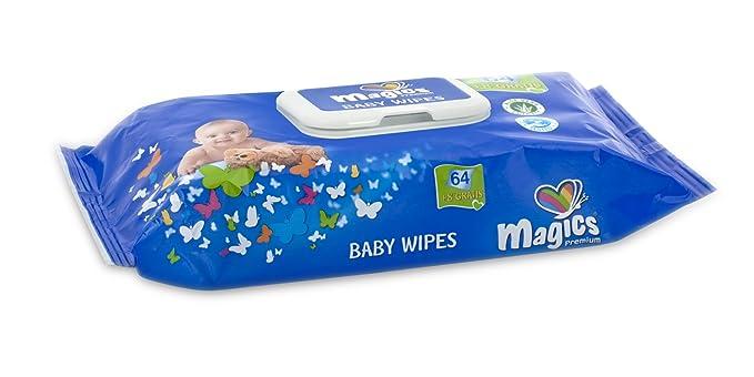 Magics Diapers - Baby Wipes - Toallitas húmedas para bebes - 12 x 72 toallitas