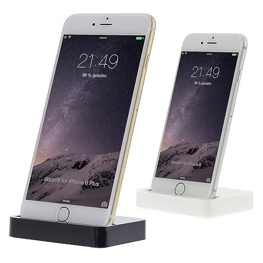 312 opinioni per doupi® Dock Docking Station iPhone 8 / 8 Plus, iPhone X ( 10 ), iPhone 7 / 7