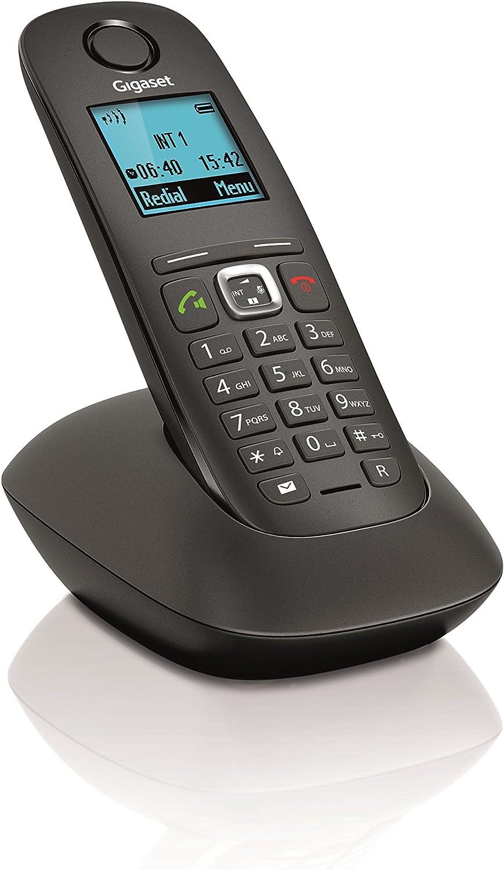 Siemens GIGASET A540 - Teléfono Fijo Digital (inalámbrico), Negro: Amazon.es: Electrónica