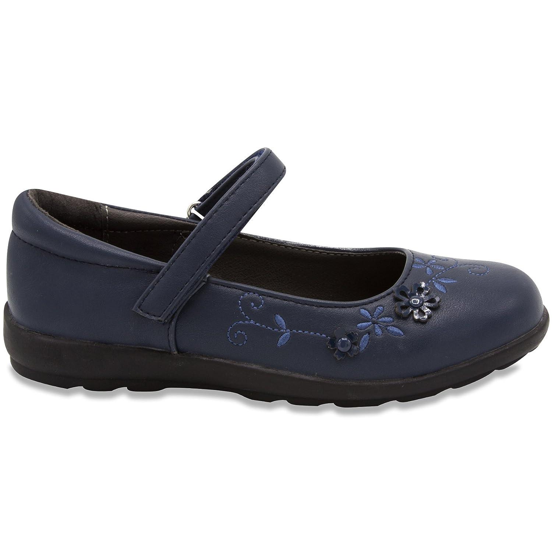 French Toast Girls Gretchen Flat Mary Jane Oxford Shoe 2 Navy