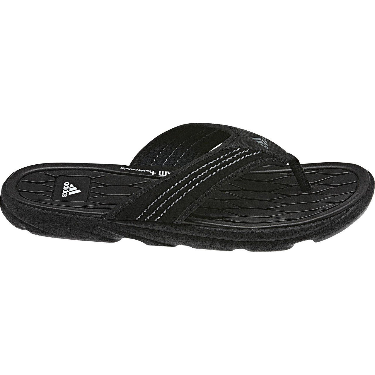 755142a28 adidas Sandals   Flip Flops - Men s Raggmo Thongs - Black - 6  Amazon.co.uk   Shoes   Bags
