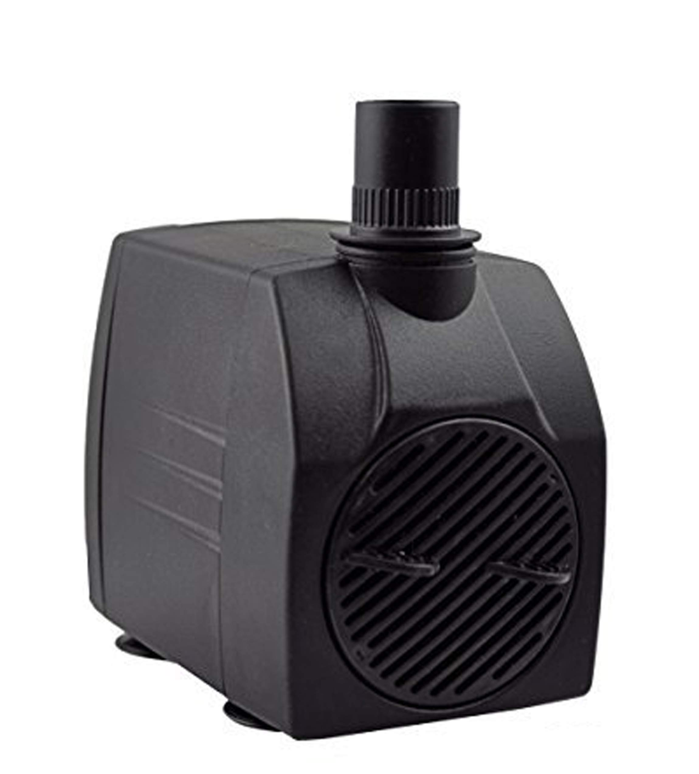 Instapark 400GPH UL Safety Certified Submersible Pump 25W 110V AC Fountain Water Pump with 5.9ft Power Cord, 3 Nozzles for Aquarium, Fish Tank, Pond, Statuary, Hydroponics by Instapark