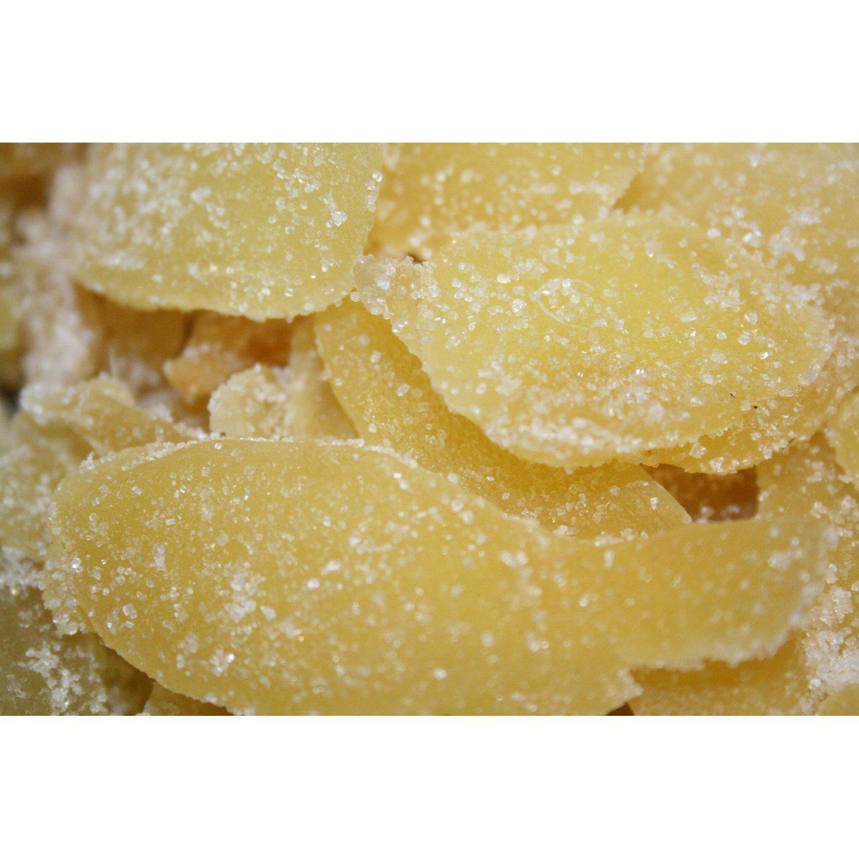 Ginger Slices (w/sugar), Natural, 16 oz.
