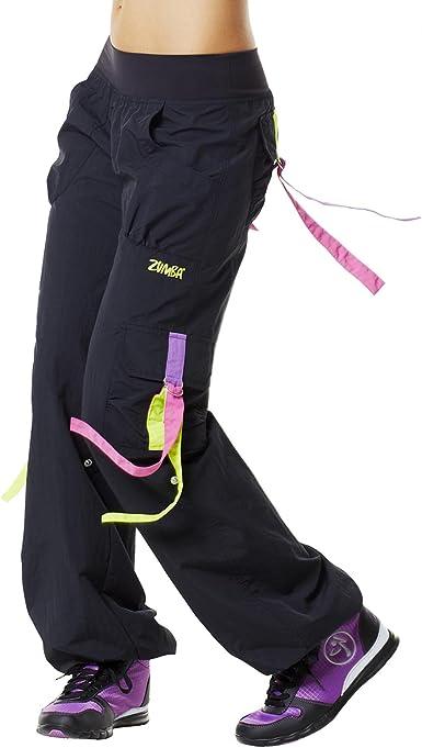 Zumba Fitness Pantalones De Mujer Negro Negro Talla Large Amazon Es Ropa Y Accesorios