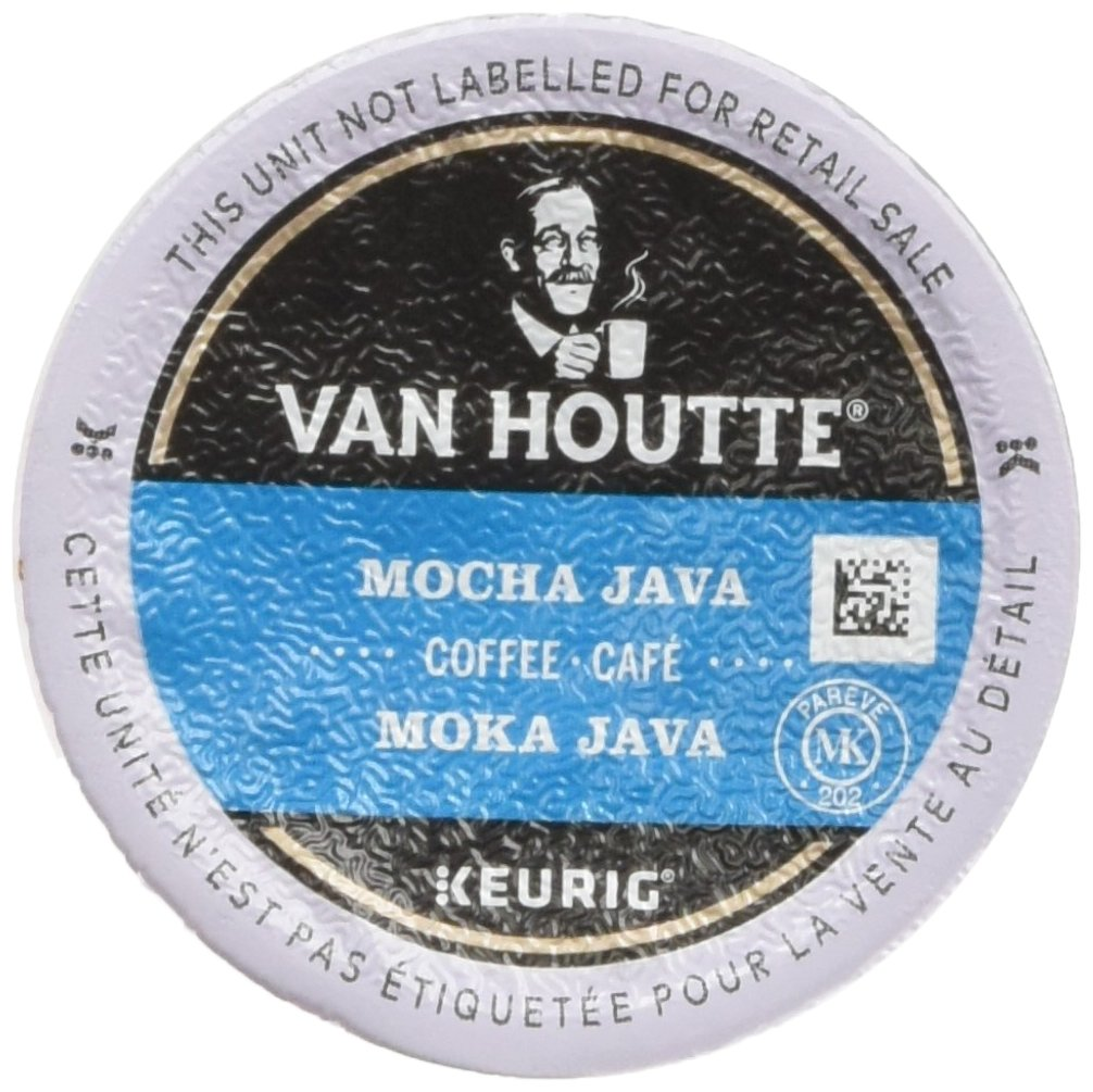 Van Houtte Coffees 40-60717 Mocha Java Roast K-Cups, Medium, 24-Count