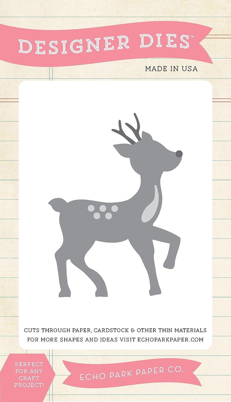 Echo Park Paper Company Red-Nosed Reindeer Die Set by Echo Park Paper B013M8WGBC