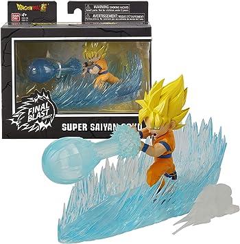 Dragon Ball-36151 Figura Goku Super Saiyan Final Blast Series, Multicolor (Bandai 36151): Amazon.es: Juguetes y juegos