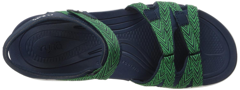 Ryka Women's Savannah Sandal B01KWH58FW 10 W US|Navy/Green