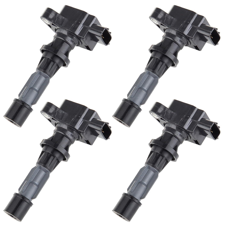 UF540 New 4PCS Ignition Coil for Mazda 3 6 CX7 MX-5 Miata L4 2.0L 2.3L 2.5L