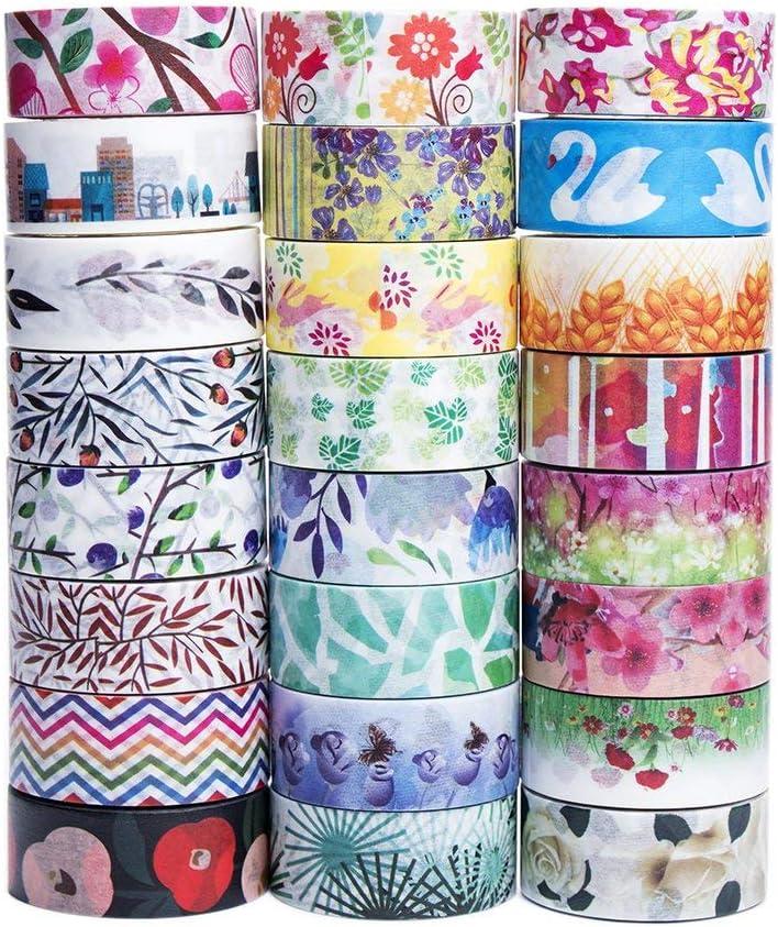 Bojo Journal Washi Tape Floral Washi Tape Washi Tape With Flower Pattern