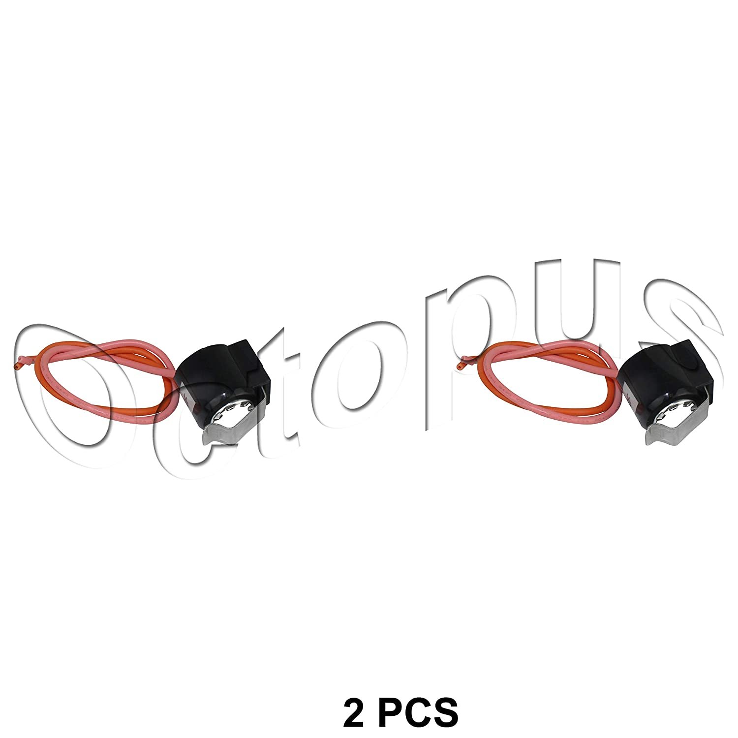2pcs Refrigerator Defrost Thermostat for GE WR50X10065 AP3796816 PS966762
