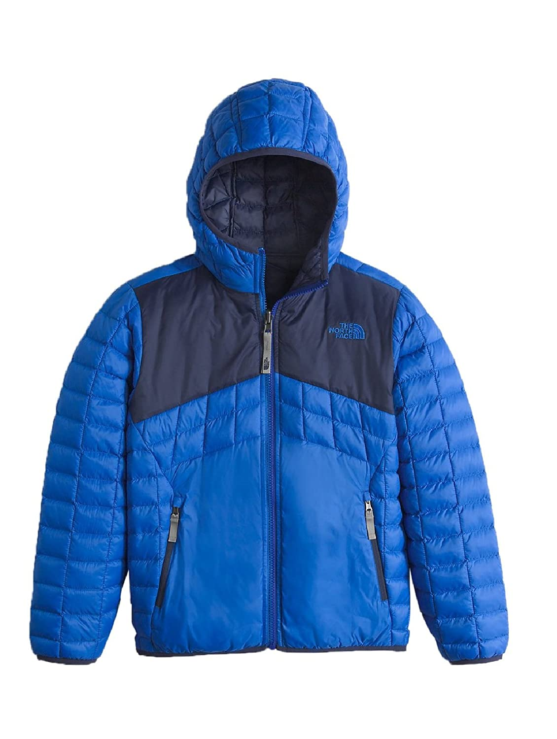 The North Face Boys' B Reversible Thermoball Hoodie Down Jacket