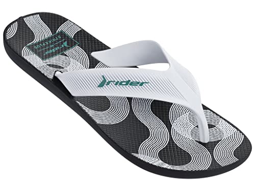 d694df17ee93 Rider Men s Strike Plus Ad Flip-Flops  Buy Online at Low Prices in India -  Amazon.in