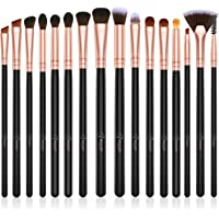 16-Pieces BESTOPE Eye Makeup Brushes Set with Premium Wooden Handles