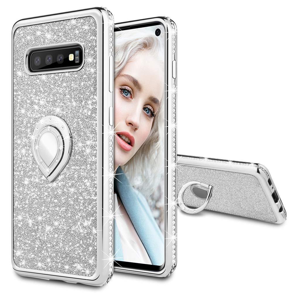 Funda Para Samsung S10 Glitter Con Pie Maxdara (7nqk55rs)