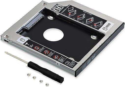 Neuftech Unidad de disco duro Caddy Sata 3.0 con adaptador de ...