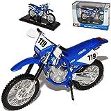 Yamaha Tt R250 R 250 Blau Nr 119 Enduro Mit Sockel 1 18 Maisto