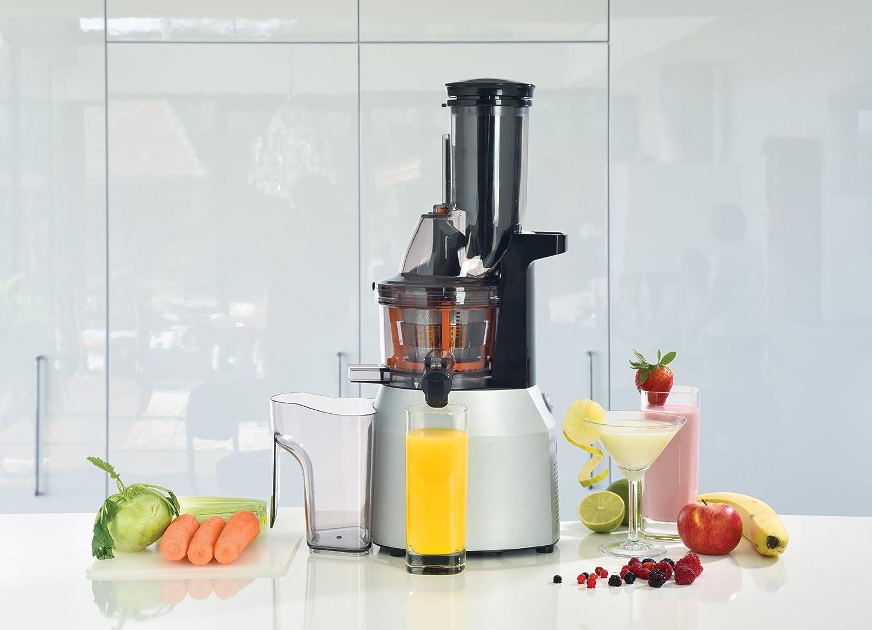 Solis 921.66 Licuadora para zumo, Smoothie o postre, frutas, duras y suave Frutas/verduras, tecnología de kaltpres, Multi Slow Juicer XXL (tipo 862): ...