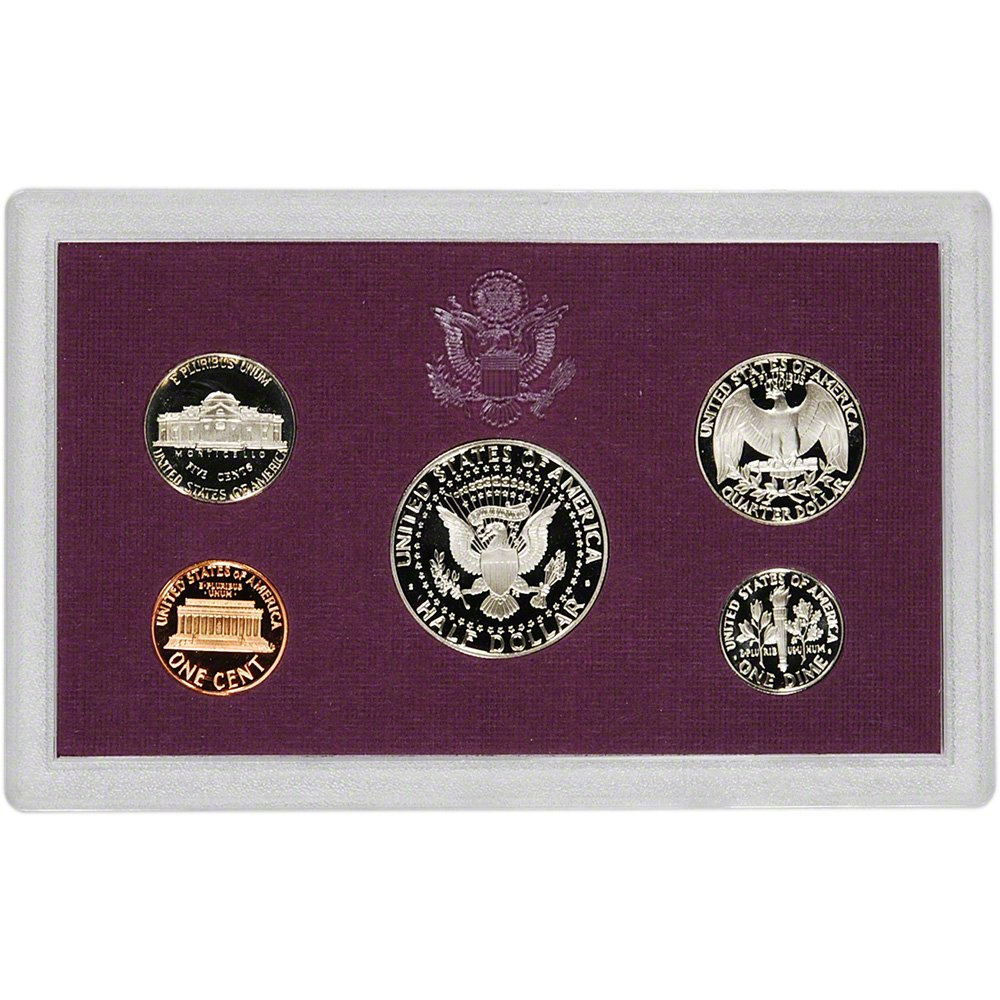 1993-S US Mint 5 Coin Proof Set